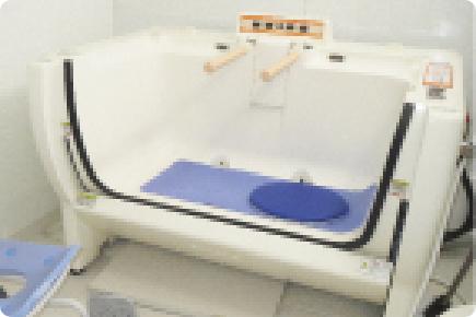座位入浴イメージ